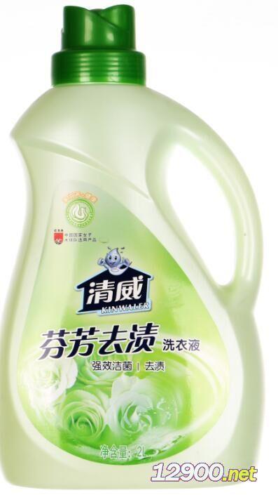 2000ml清威花语全漂洗衣液