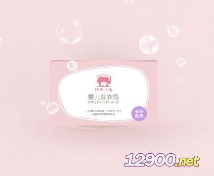 红色小象婴儿洗衣皂(清新果香/阳光花香)