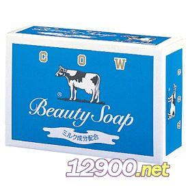 牛乳石碱蓝盒沐浴款香皂清爽型茉莉花香