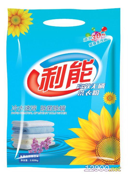 利能�o磷洗衣粉2028g