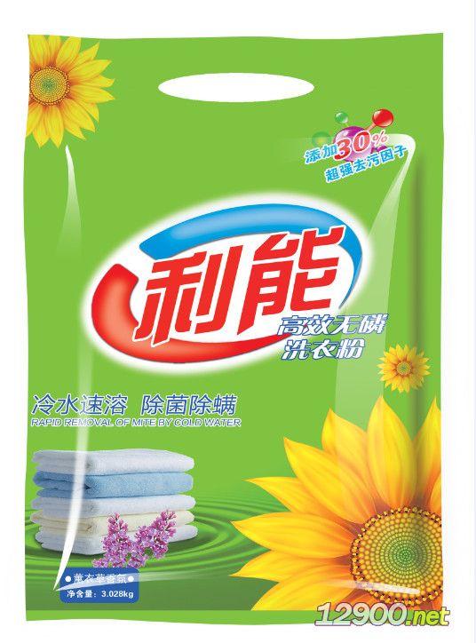 利能�o磷洗衣粉3028g