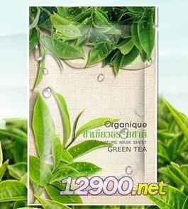 organique精粹绿茶绿水面膜
