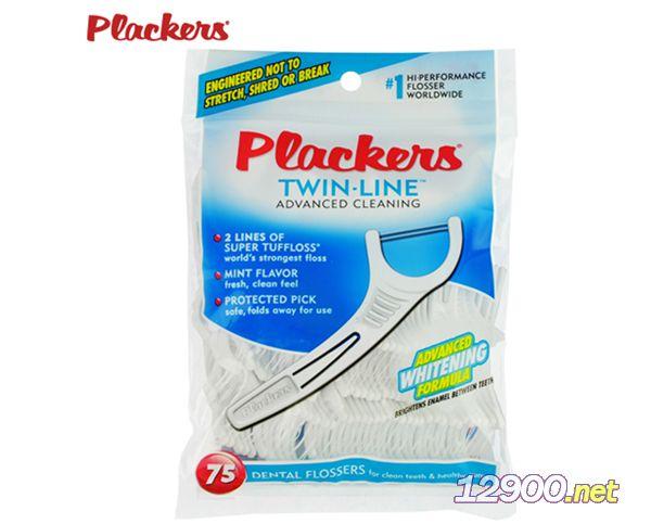 美国进口Plackers双线牙线超细牙线