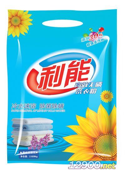 利能高效�o磷洗衣粉