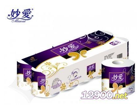 妙爱金蝴蝶紫色卷纸