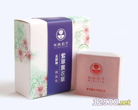 紫草薰衣草精油皂