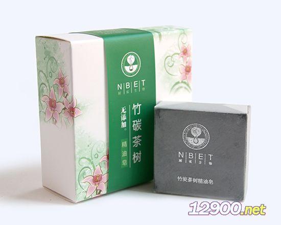 竹炭茶树精油皂