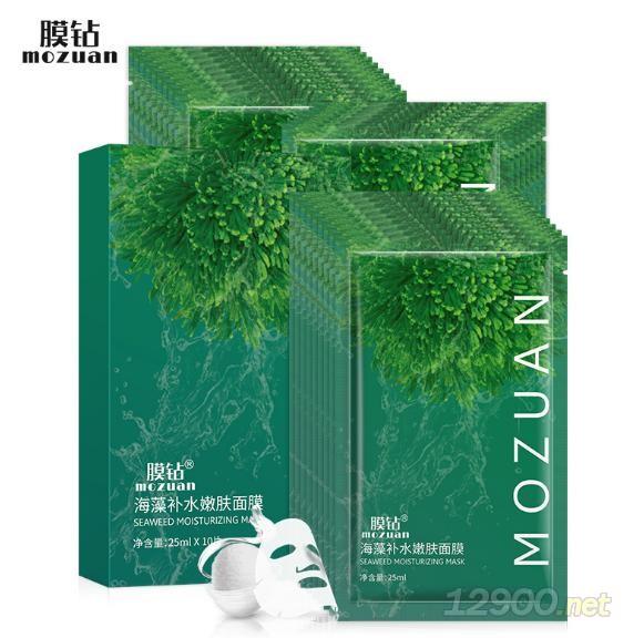 膜钻海藻补水嫩肤面膜