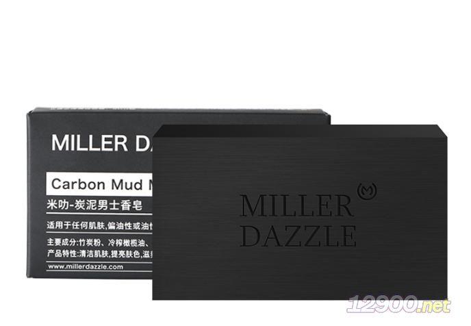 millerdazzle炭泥男士香皂