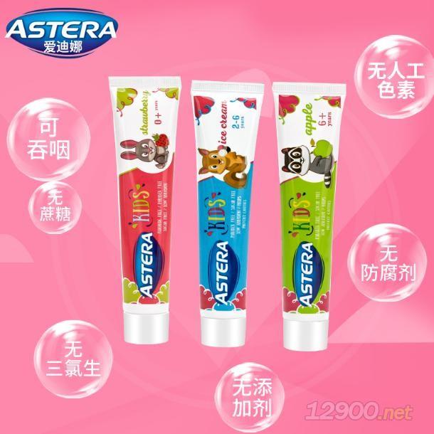 保加利亚进口ASTERA儿童牙膏