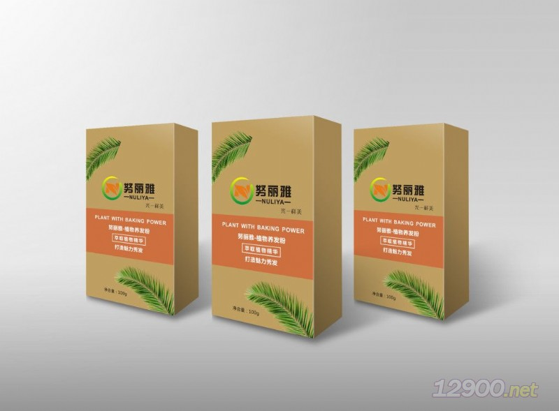 努丽雅植物养发粉
