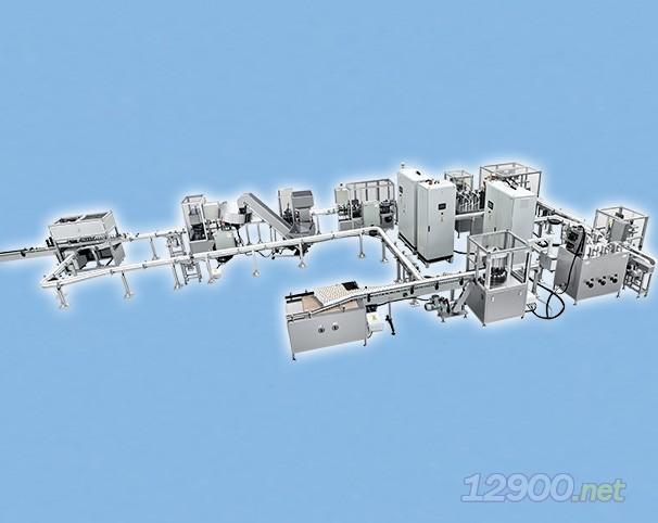 高速智能化柔性气雾剂灌装线