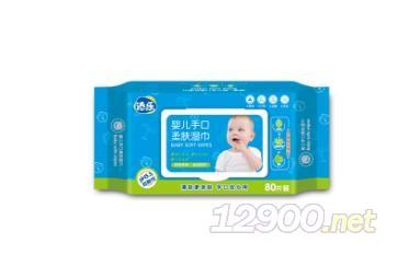 婴儿手口柔肤湿巾