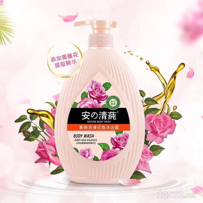 (安の清莼)蔷薇浪漫花香沐浴露
