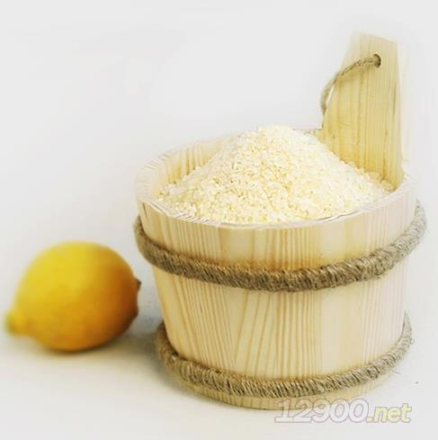 柠檬香草浴盐
